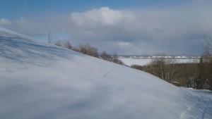 Вот так выглядели окрестности Архангельска 25 марта