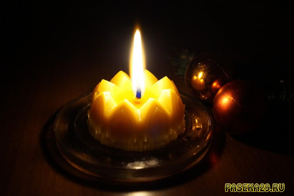 Свечи из пчелиного воска